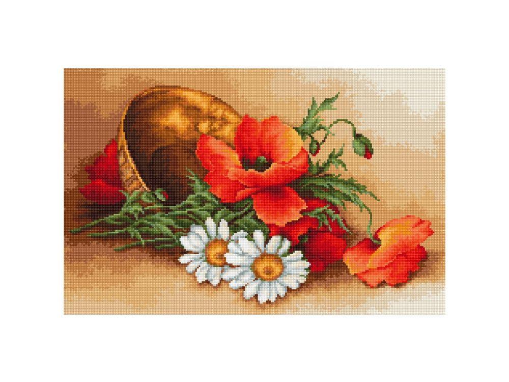 Купить Набор для вышивания «Полевые цветы», Luca-S, G500
