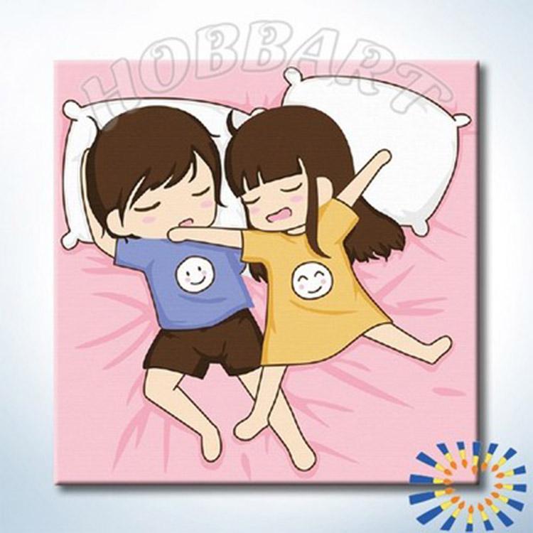 Купить Картина по номерам «Приятного сна. Полеты», Hobbart, Россия, HB2020122-Lite