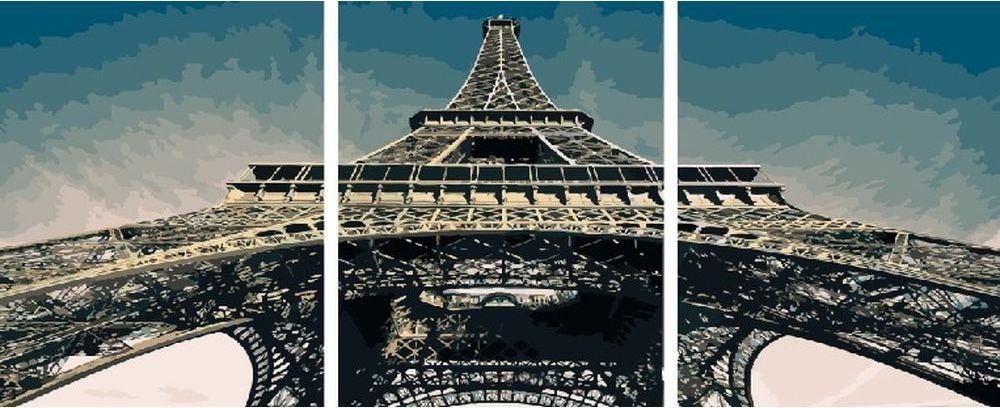 Купить Картина по номерам «Эйфелева башня», Paintboy (Premium), 3 шт. 40x50 см, KX-0100