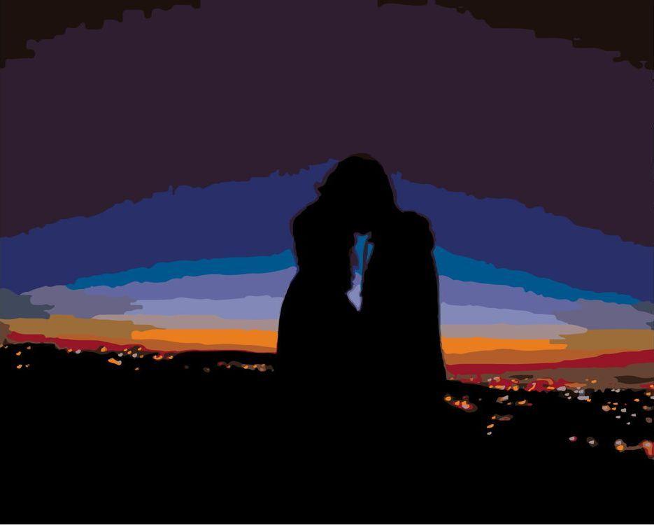 Купить Картина по номерам «На закате», Живопись по Номерам, KSRV-ZAKAT1