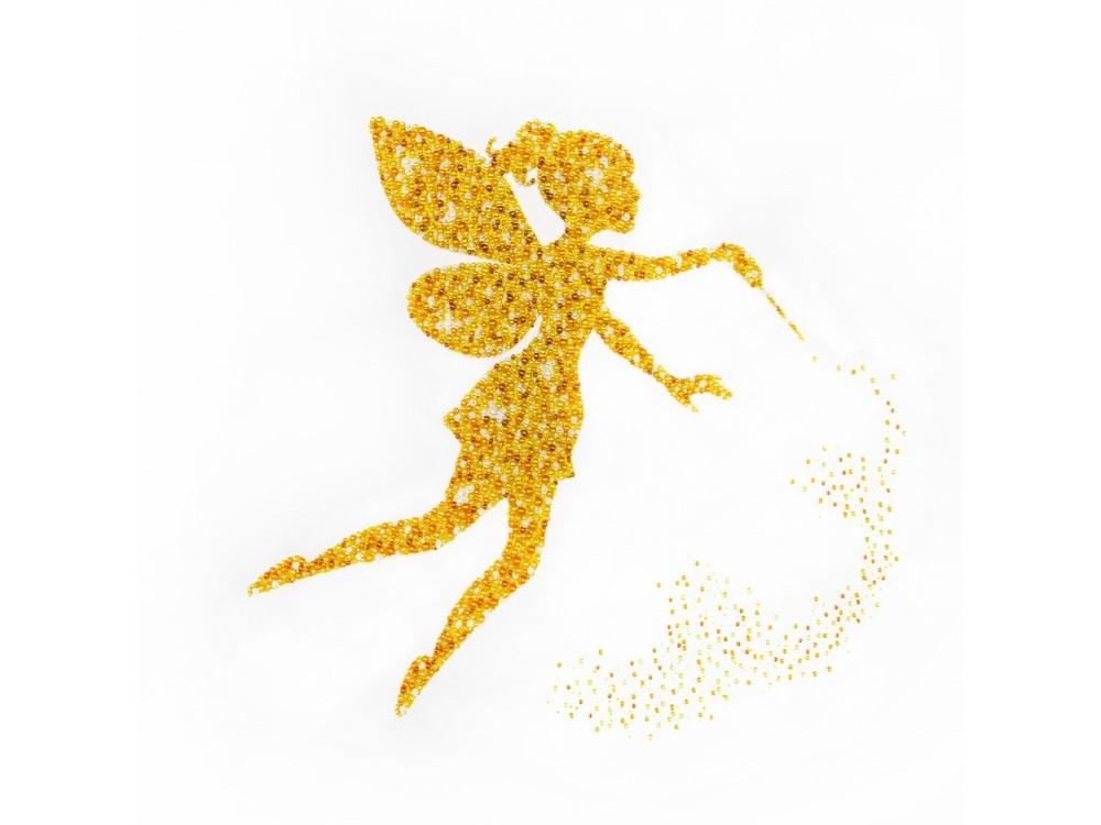 Купить Вышивка бисером, Набор вышивки бисером «Золотая Фея», Miniart Crafts, 40x40 см, miniart.55011