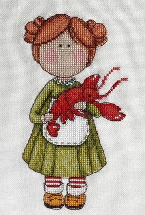Купить Вышивка крестом, Набор для вышивания «Рак», Neocraft, 10x17 см, ГР-07