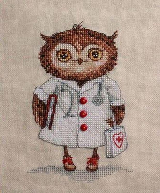 Купить Вышивка крестом, Набор для вышивания «Будь здоров!», Neocraft, 10x15 см, СВ-03
