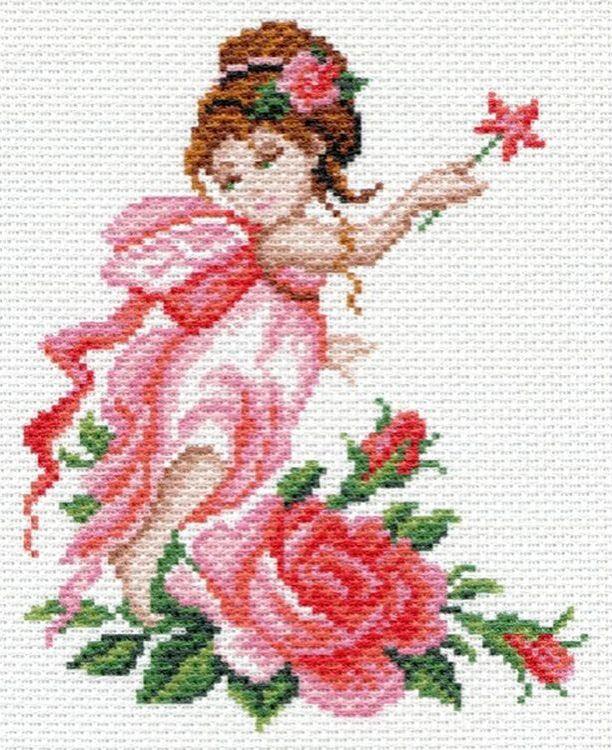 Купить Рисунок на канве «Фея роза», Матренин Посад, 1637-1