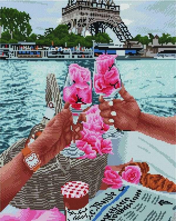 Купить Алмазная вышивка «За любовь», Painting Diamond, 40x50 см, APK30083