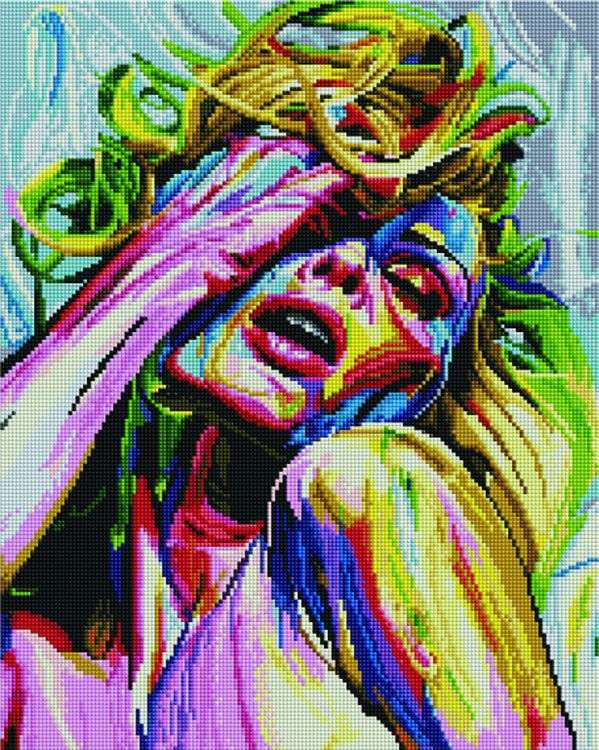 Купить Алмазная вышивка «Эмоция», Painting Diamond, 40x50 см, APK33036