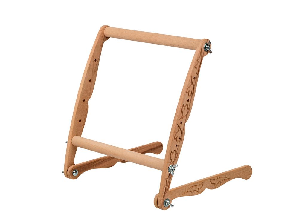 Купить Пяльцы-рамка с опорами Gamma Premium универсальные, 30х30 см, арт. DNP-30, 30x30 см, дерево, бук