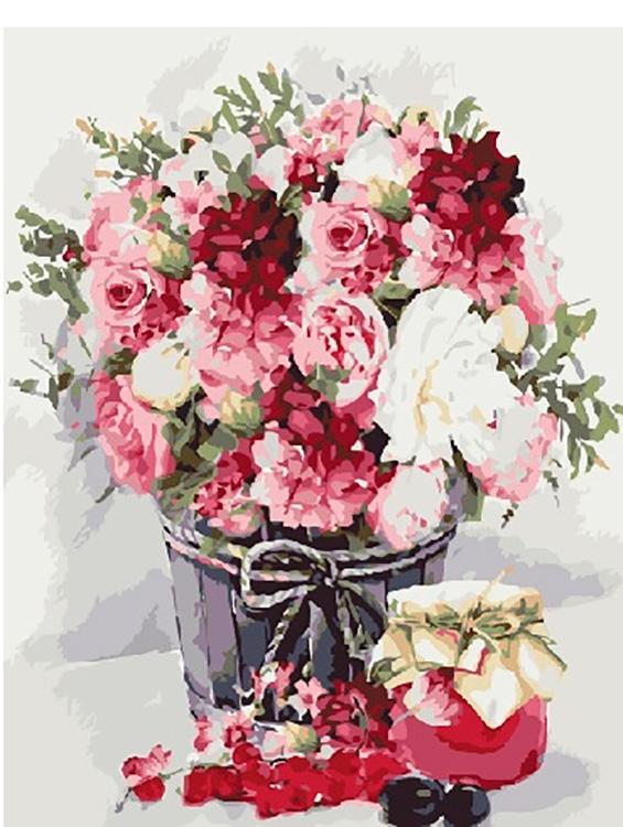 Купить Картина по номерам «Натюрморт с вареньем», Paintboy (Premium), GX26063