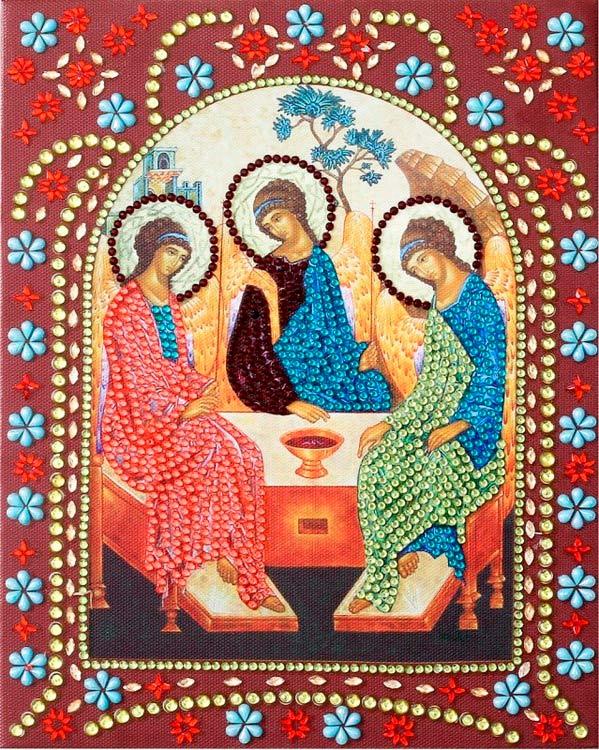 святая троица алмазная мозаика