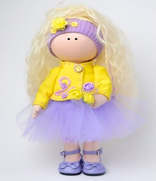 Купить Набор для шитья «Тоня», Pugovka Doll, высота 35 см, K20