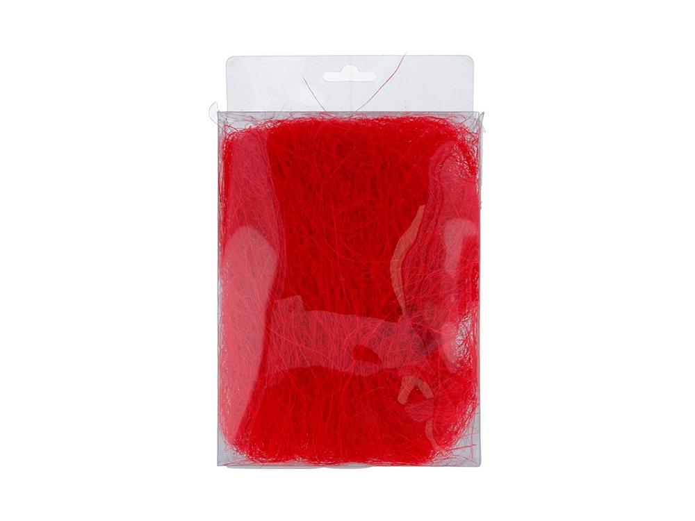 Купить Сизалевое волокно, цвет: красный 20 г, Blumentag, натуральное волокно, BHG-20-k