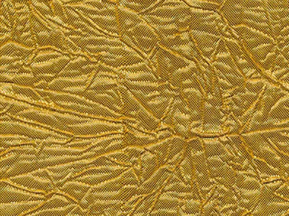 Купить Декоративный упаковочный материал MFF, цвет: 01 золото, 10 м, Blumentag, ткань парча, MFF-01