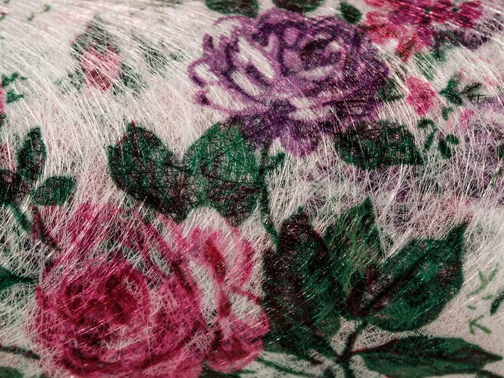 Флористический фетр PNW-35, цвет: 01 белый (цветы), 10 м, Blumentag, флористический фетр (100% полиэстер), PNW-35-01  - купить со скидкой