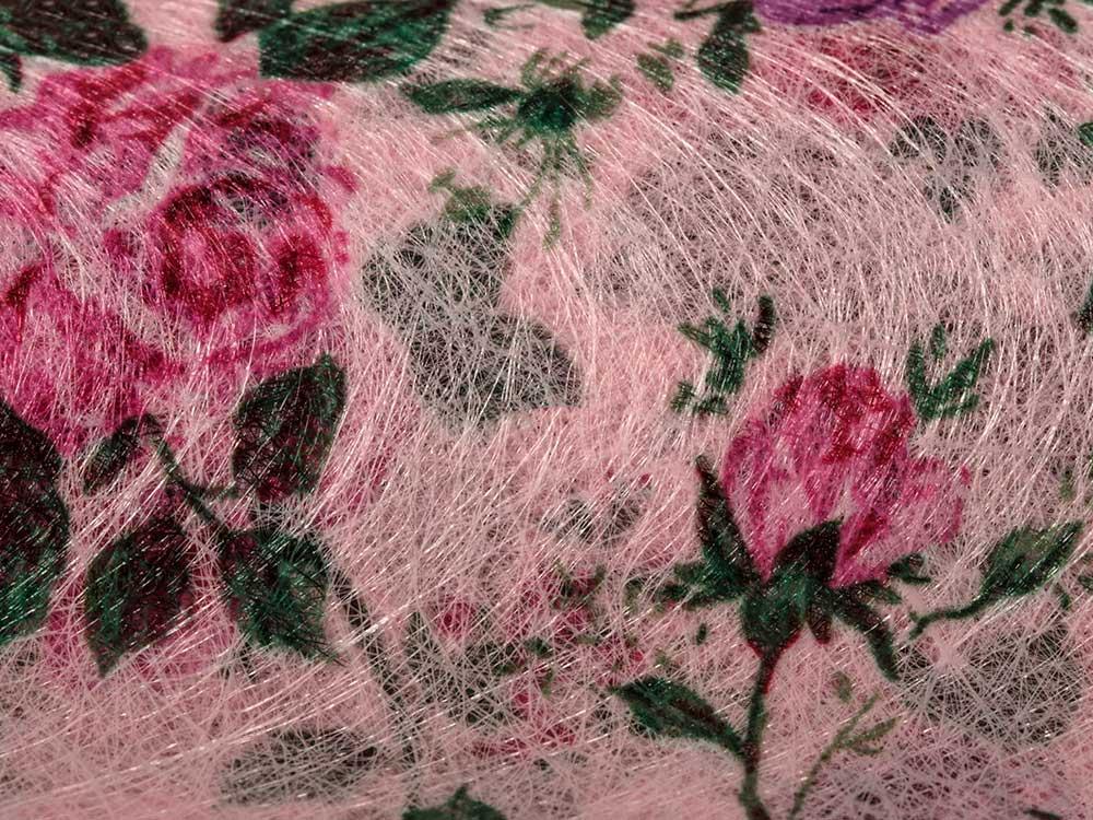 Купить Флористический фетр PNW-35, цвет: 02 розовый (цветы), 10 м, Blumentag, флористический фетр (100% полиэстер), PNW-35-02