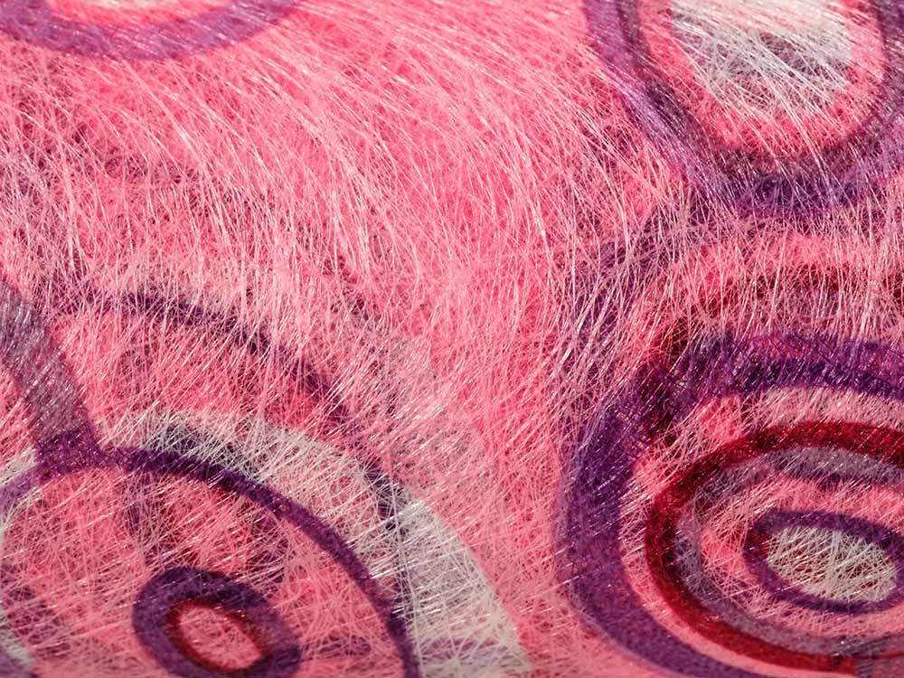 Купить Флористический фетр PNW-35, цвет: 05 розовый (круги), 10 м, Blumentag, флористический фетр (100% полиэстер), PNW-35-05