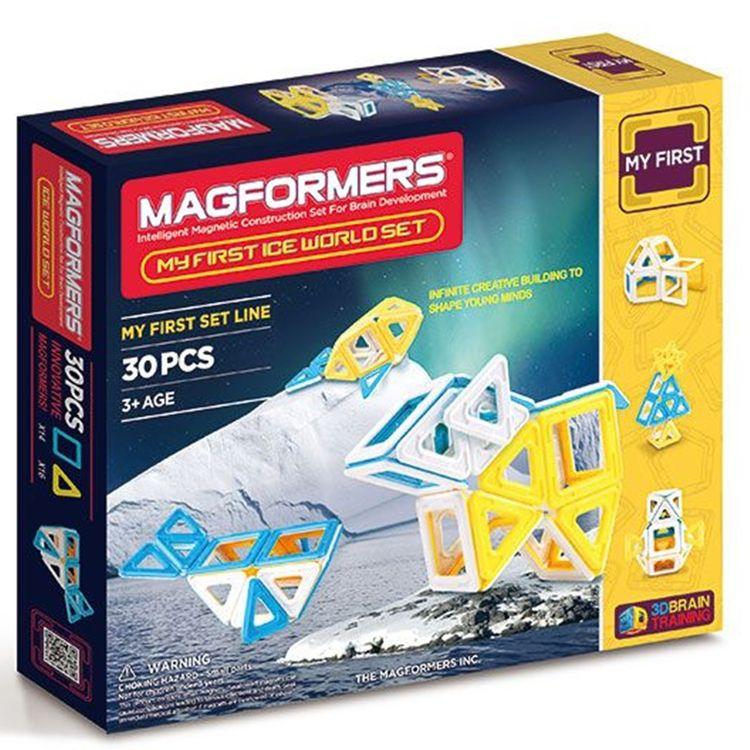 Купить Магнитный конструктор Magformers My First Ice World Set (30 дет), 702003/63136