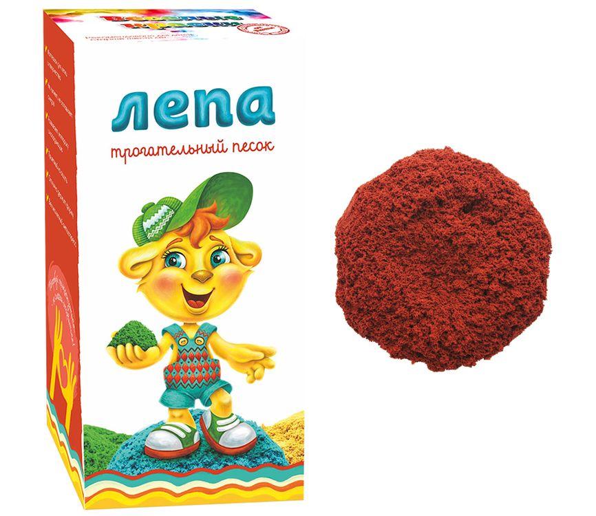 Купить Песок Лепа с красным минеральным красителем 1 кг, 00-00000279