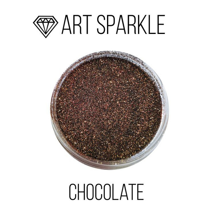 Купить Глиттер мелкий Chocolate, 50 г, Craftsmen.store, GL-146