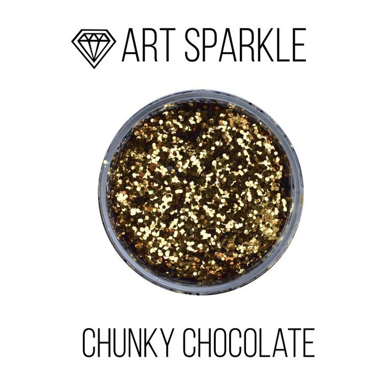 Купить Глиттер крупный Chunky Chocolate, 50 г, Craftsmen.store, GL-167