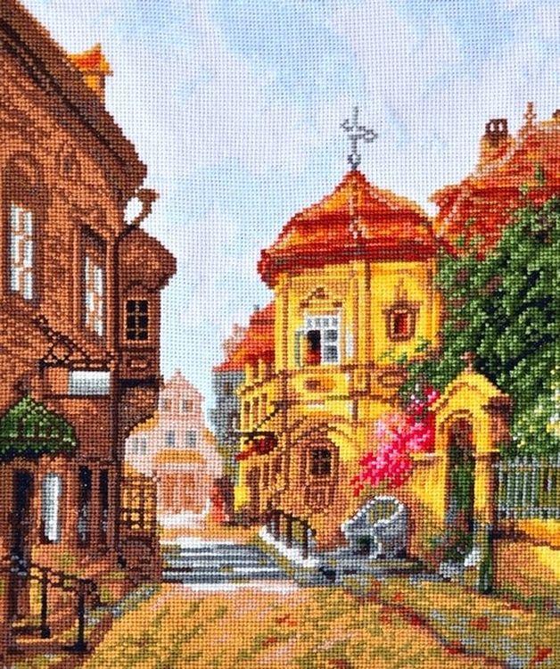 Купить Вышивка крестом, Набор для вышивания «Дыхание старины», Палитра, 21x27 см, 07.020