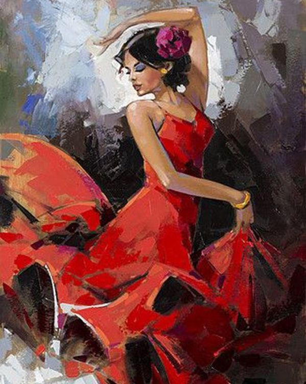 Купить Картина по номерам «Танго», Paintboy (Premium), 40x50 см, VA-0905