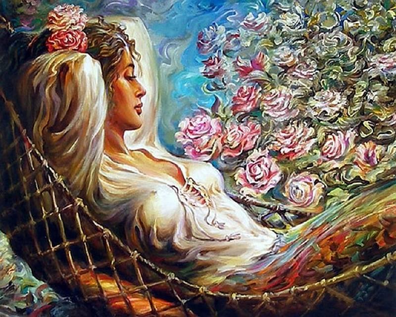 Купить Картина по номерам «Отдых», Paintboy (Premium), 40x50 см, VA-0958