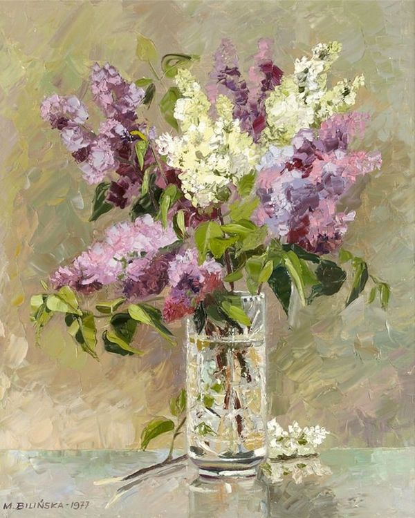 Купить Картина по номерам «Цветы в хрустальной вазе», Paintboy (Premium), 40x50 см, VA-1209