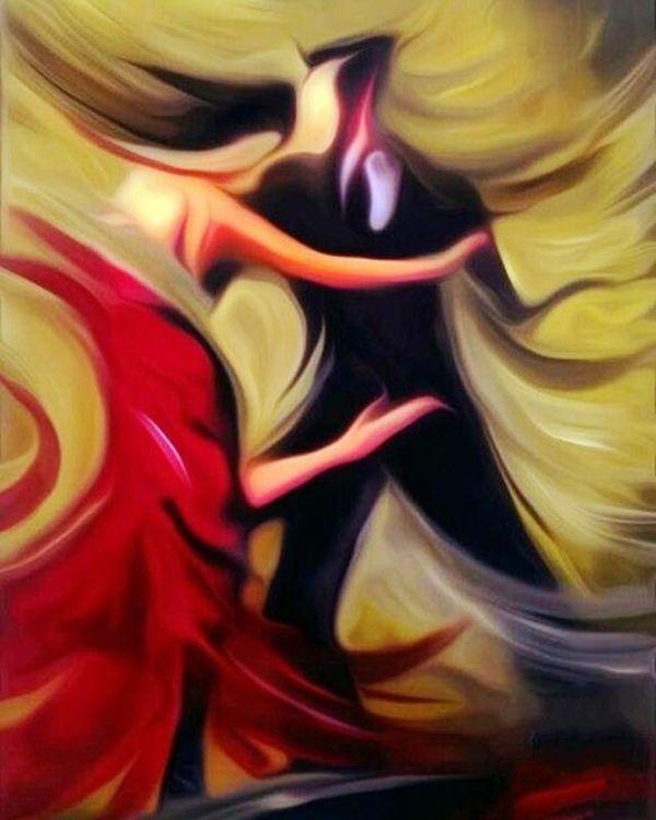 Купить Картина по номерам «Танец», Paintboy (Premium), 40x50 см, VA-1396