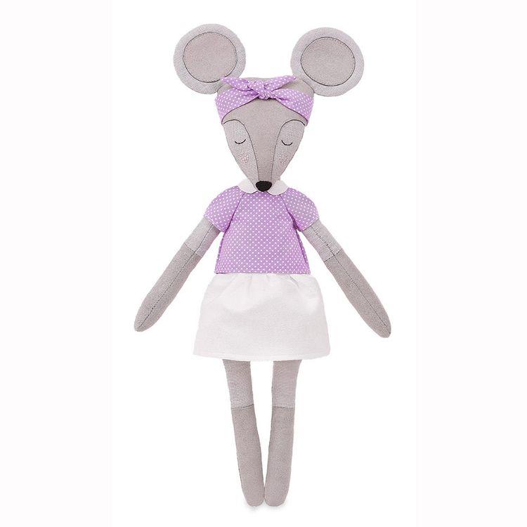 Купить Набор для шитья «Мышка Хельга», Miadolla, высота 37 см, TT-0220