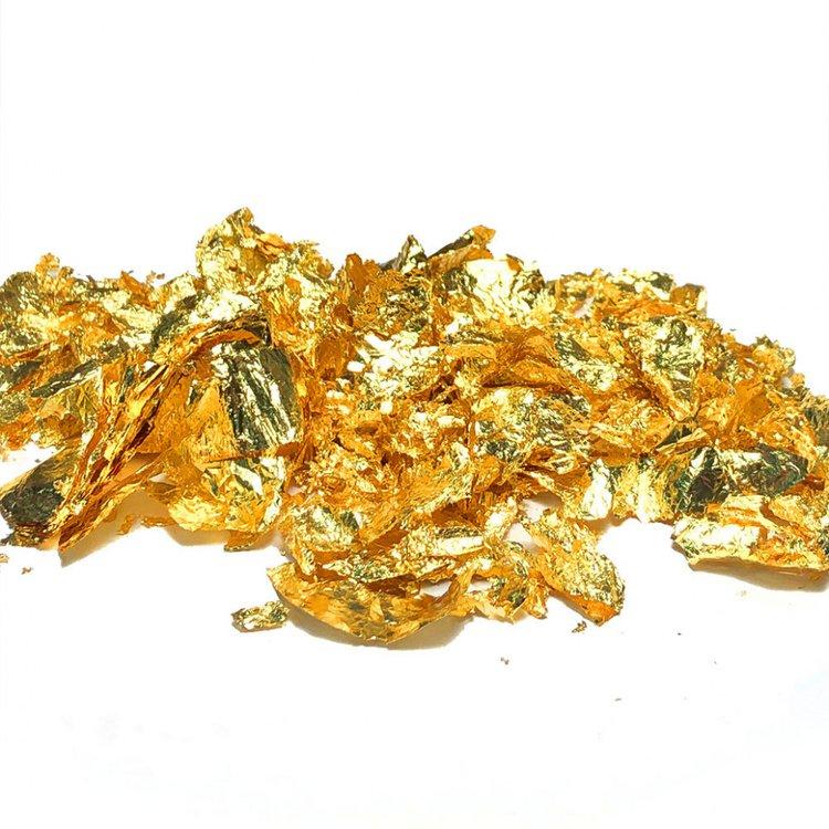 Купить Поталь хлопья золото, 250мл, Epoxy Master, EM15