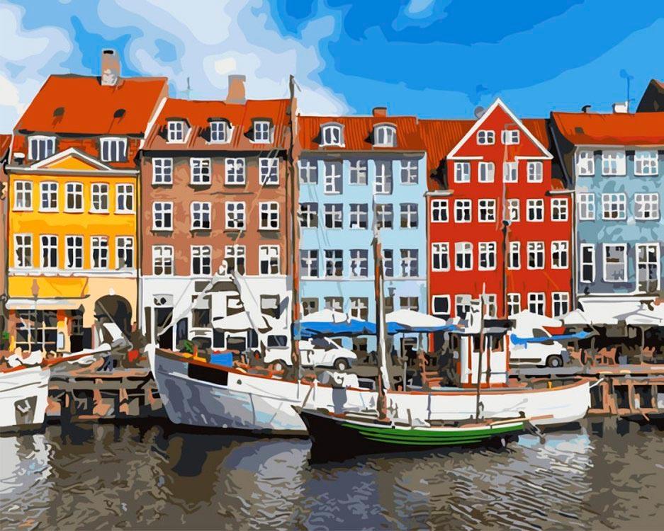 Купить Картина по номерам «Амстердам», Paintboy (Premium), Китай, GX25842