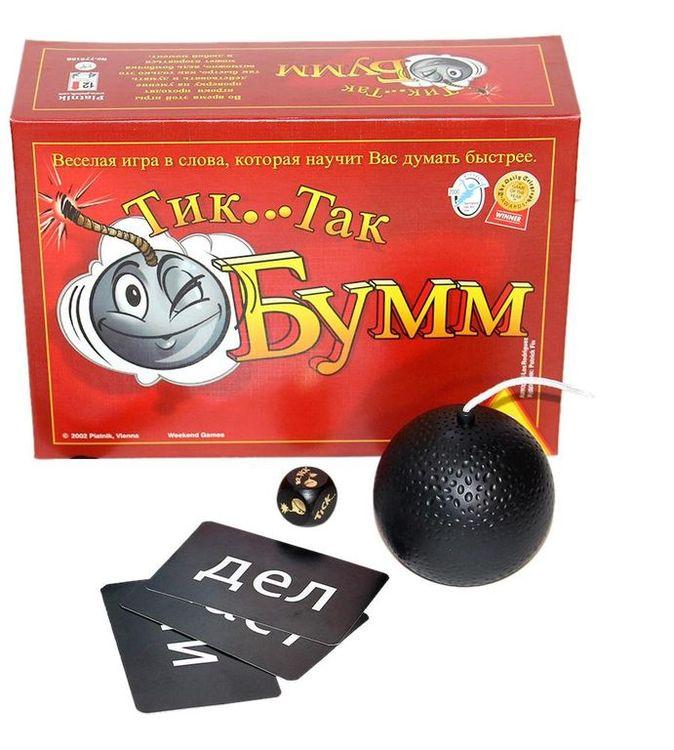 Купить Настольная игра «Тик Так Бумм» (издание 2016 года), Piatnik, 798092