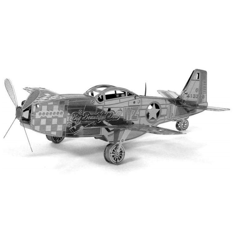 Купить Сборная модель истребитель Мустанг, Китай, Z11105