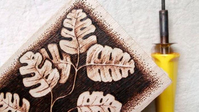 На фото изображено - Выжигание по дереву для начинающих, рис. Петельный пирограф